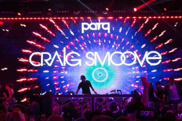 Craig Smoove & DJ Dynamiq at Parq Nightclub in San Diego