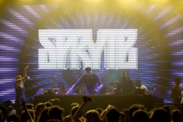 DJ Spryte at Parq Nightclub in San Diego 10/16/15