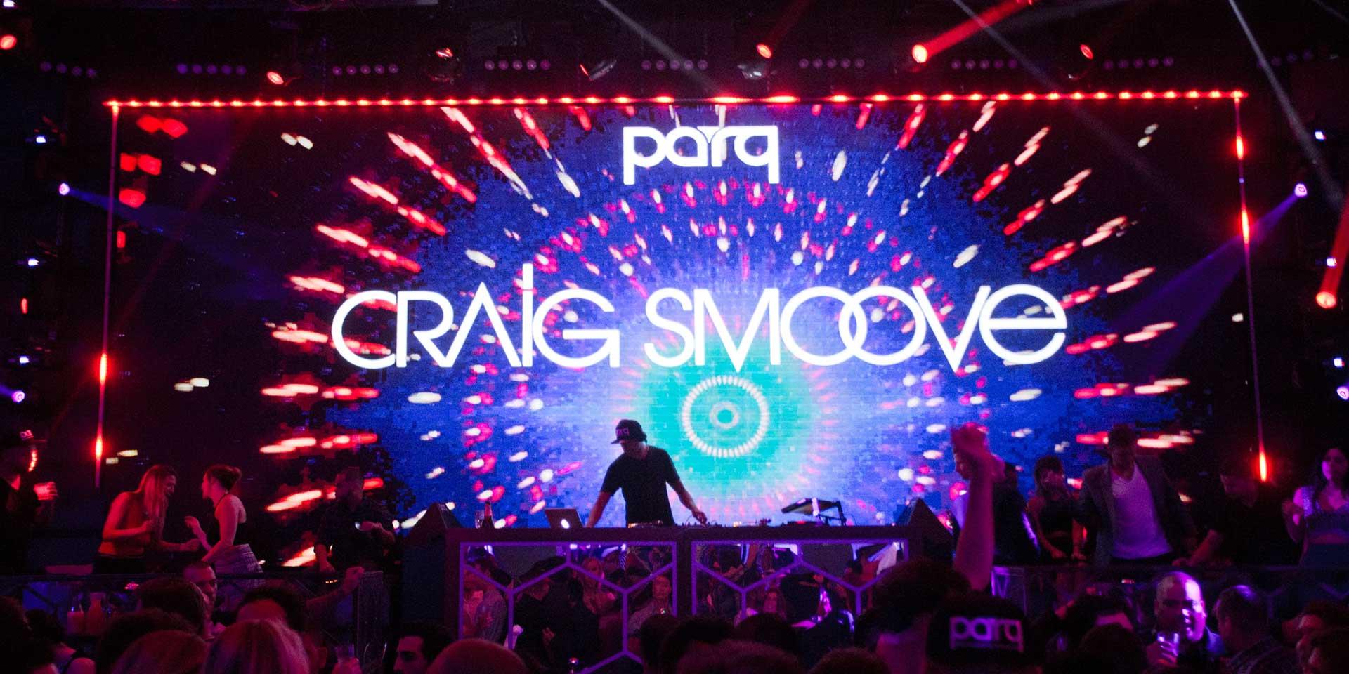 Craig Smoove & DJ Dynamiq at Parq Nightclub in San Diego
