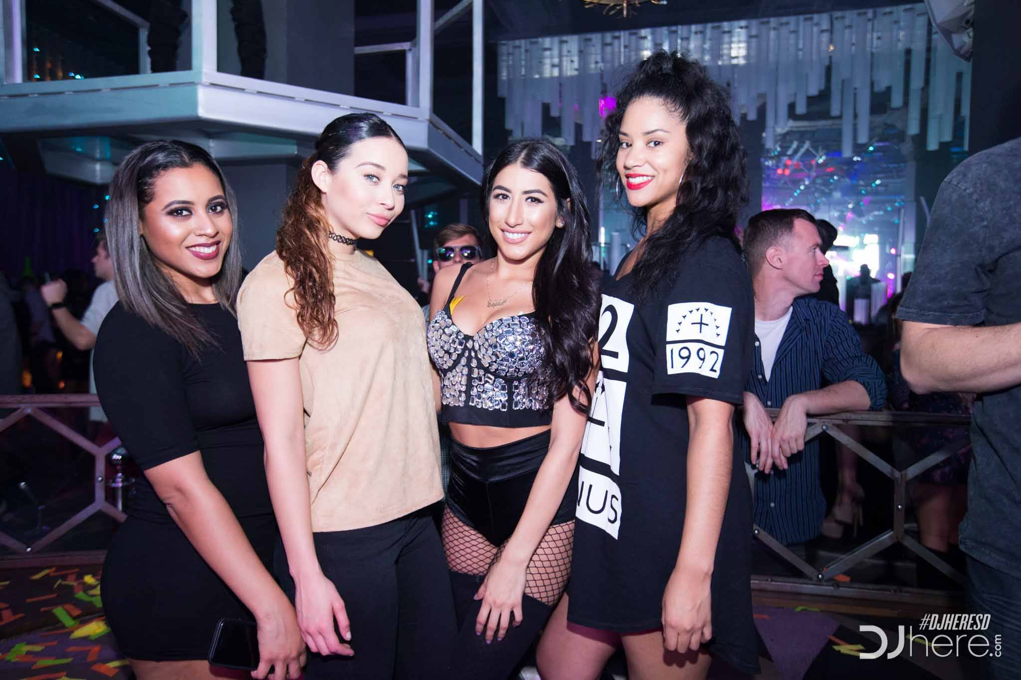 Scene at Parq Nightclub in San Diego