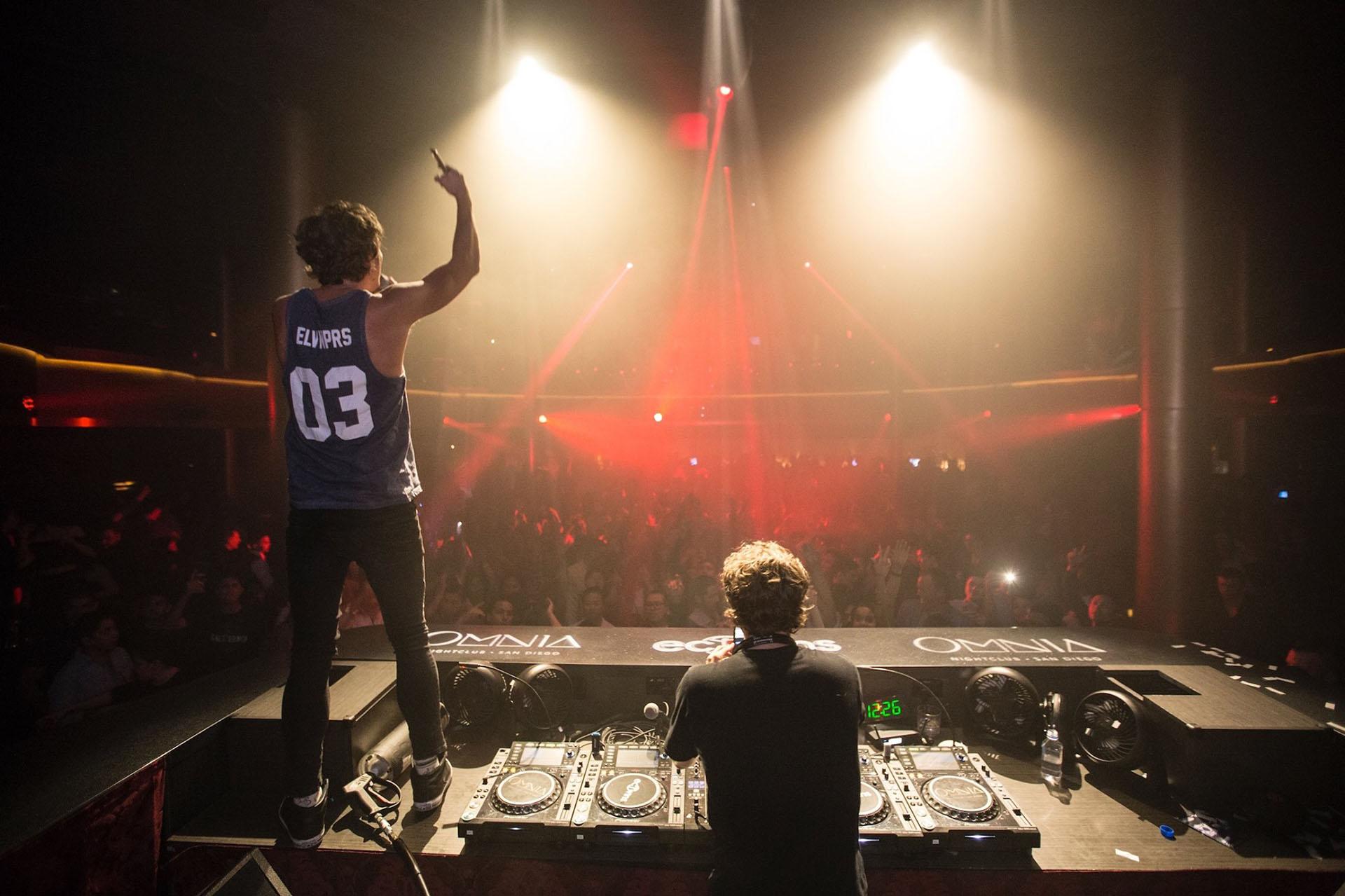 EC Twins at OMNIA Nightclub in San DIego