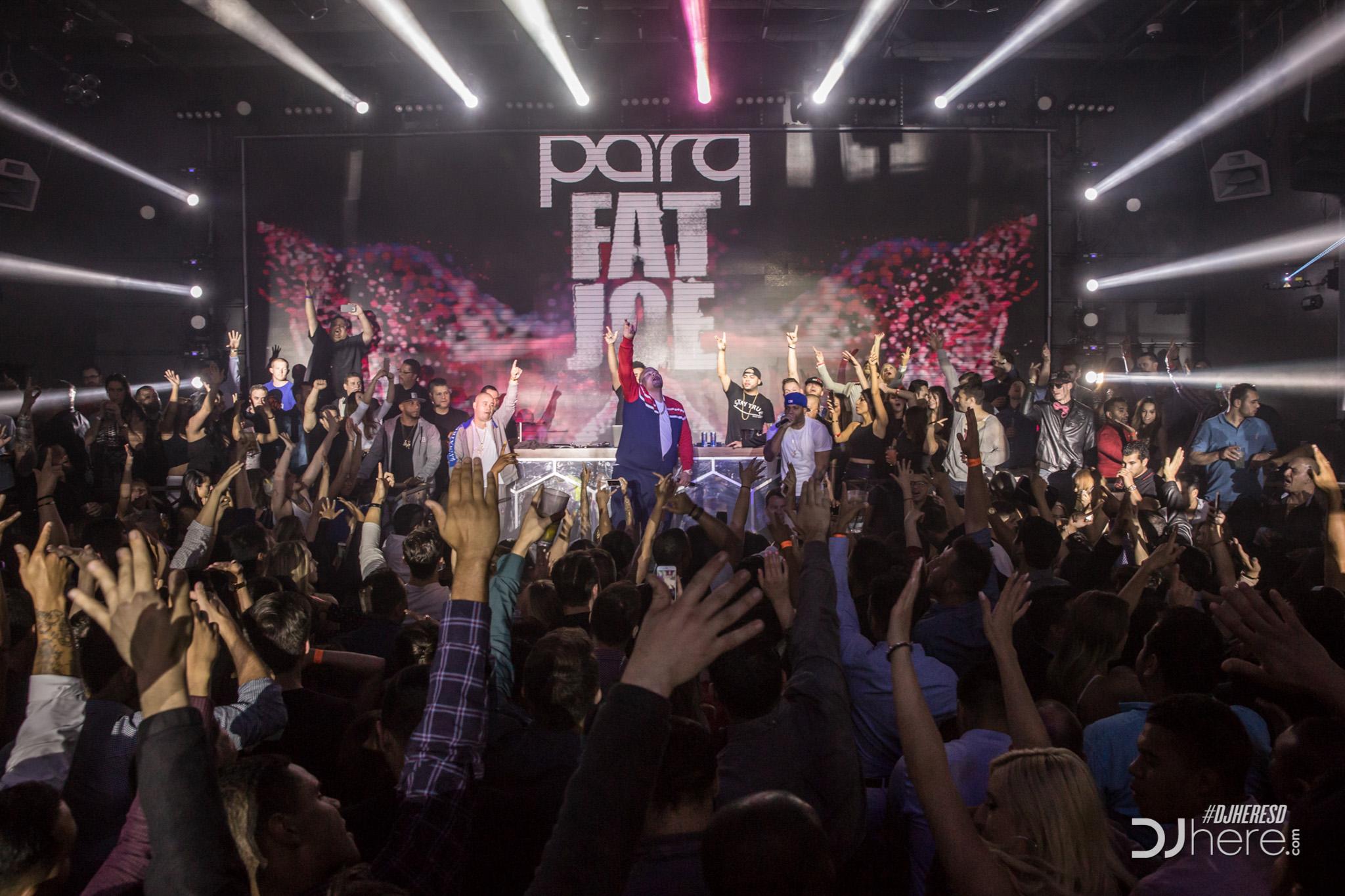 Fat Joe at Parq Nightclub