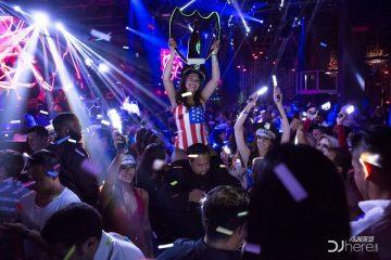Konflict at Parq Nightclub