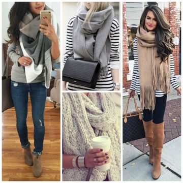 thanksgiving-outfit-ideas-bulky-scarf